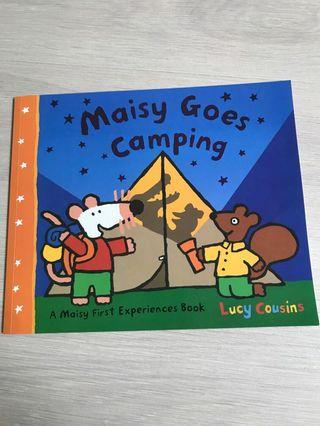 Children's Book / Maisy Gose Camping