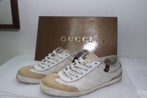 Gucci 經典提花休閒鞋