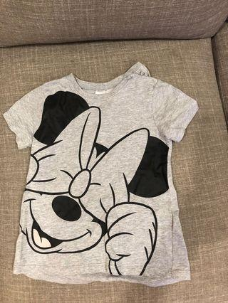 H&M minnie mouse top