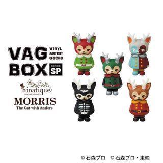 🚚 角貓 Morris VAG BOX 一中盒 10隻 日本 石森章太郎展 聯名假面騎士 限定