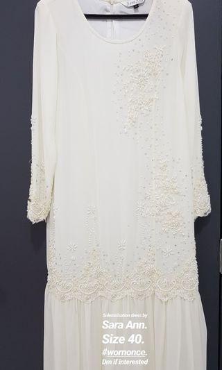 Baju Nikah. Solemnization Dress