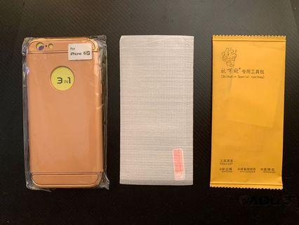 🚚 iPhone 6/6s Case + Screen Protector