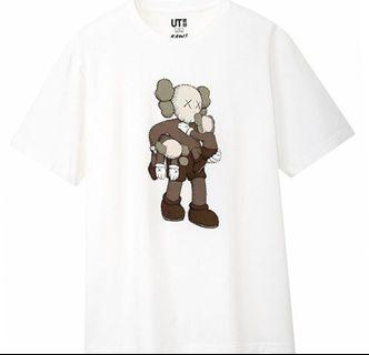 🚚 XXL KAWS UNIQLO ALL GREY