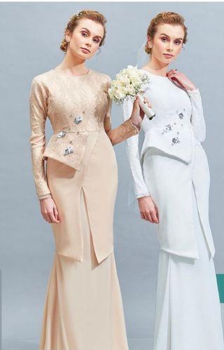 🚚 Jannah Noe Darleesa Kurung Bride Series
