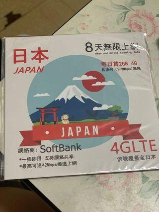 日本電話8日4G
