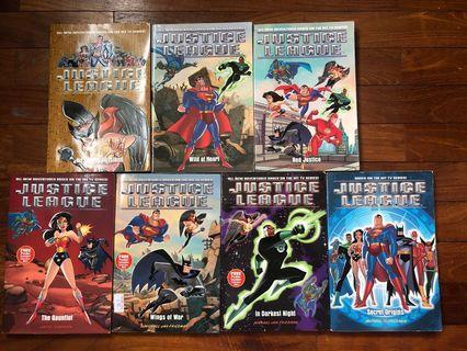 🚚 Justice League Books