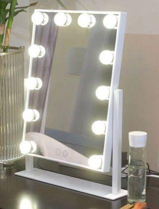 結婚物資 led化妝鏡 12燈 三色光 LED