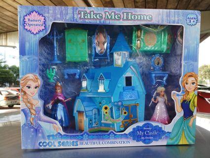 FROZEN PLAYSET FOR YOUR DAUGHTER😍