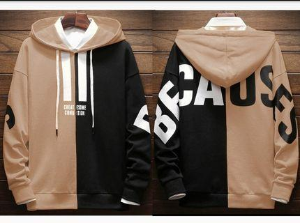 CL-EUU TP Because Sweater hoodie REAL PICT.