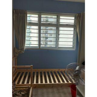 No Agent Fee Common Room @ Blk 415B Fernvale Link A/C, WiFi.