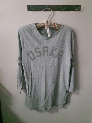 ♥Cotton On Grey Long Sleeve Top