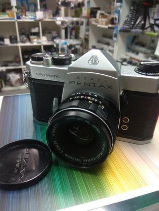 PENTAX Spotmatic camera with 35mm f3.5 lens 相機鏡頭