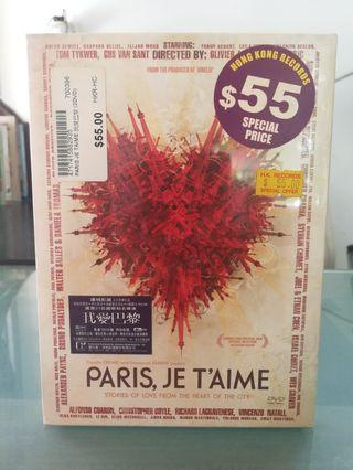 PARIS, JE T'AIME Dvd Uncut Euro Version 2-Disc NTSC