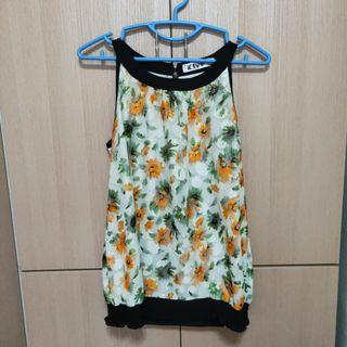 [Instock] Floral Sleeveless Top