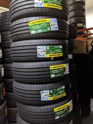 Cheap tyres for private hirers