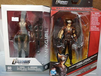 🚚 DC LEGENDS OF TOMORROW HAWKMAN HAWKGIRL DC Multiverse Mattel DC collectibles