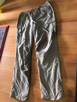 Uniqlo fleece lined pants