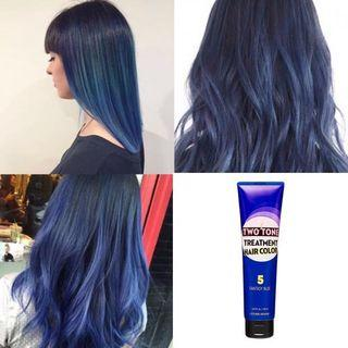 🚚 Etude Hair Dye Two Tone Treatment Fantasy Blue