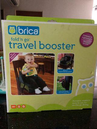 🚚 Portable high chair booster seat brica