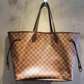 Authentic LV Neverfull GM Damier Ebene