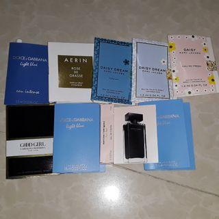 Authentic Perfume Samplers