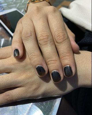 Black Nail Henna