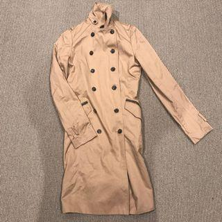 Woman coat light brown for autumn winter
