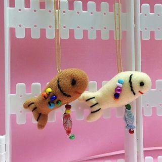 🚚 手作娃娃吊飾 — 魚