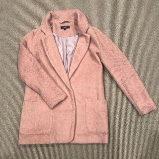 Pink Coat for Autumn and Winter