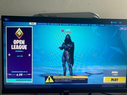 CHEAP FORTNITE ACCT SAVE THE WORLD INCLUDED