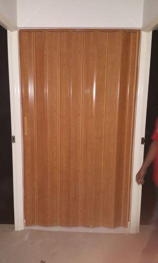 PVC Multi Folding for toilet or store Door