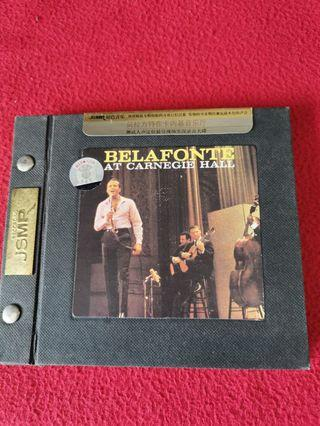 (Harry) Belafonte at Carnegie Hall