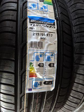 Bridgestone Turanza 215/55 R17