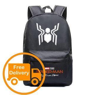 Spiderman Far From Home Backpack Bag Marvel Superhero Avengers