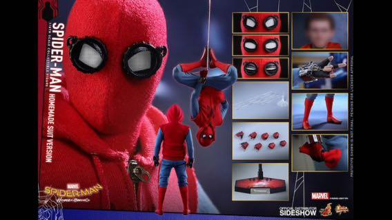 Hot toys Spider-Man Home Made Suit Hottoys Spiderman Home-Coming MMS414