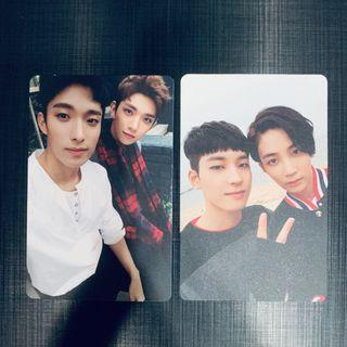 Official Going Seventeen Pairing Photocards