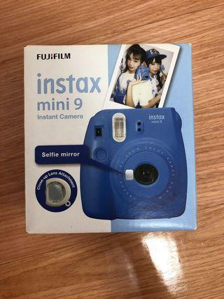 即影即有相機 (instax mini 9 藍色)