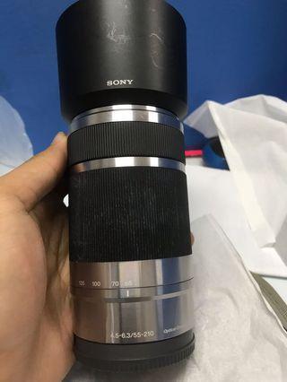 Lensa Sony Mirrorles 55-210mm F4.5-5.6 oss mulus
