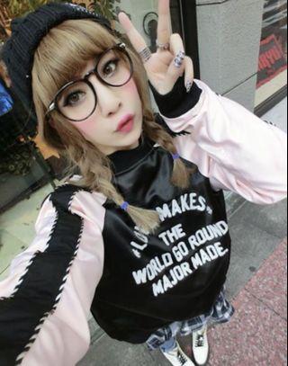 🚚 (滿額350元贈面膜)絕版 major made ma-1緞面雙面穿橫須賀外套
