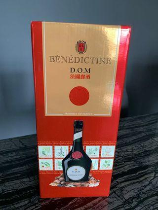 🚚 Benedictine D.O.M 1 litre * 4 bottles in stock