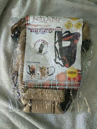 [Masih segel] Gendongan bayi Babyscots