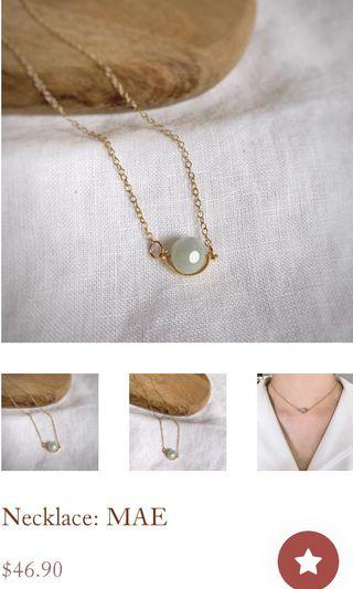 🚚 WANT TO BUY: MAE NECKLACE - bahskitkase
