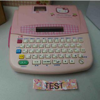 Brother PT-180KH Hello Kitty 中英日文標籤機(已絕版) 內附3盒標籤帶