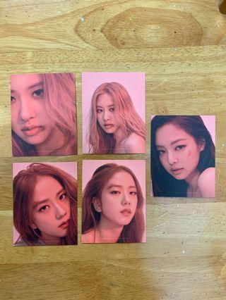 Blackpink Kill This Love Puzzle Photocards (Rose, Jisoo, Jennie)