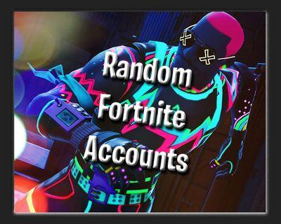 🚚 RANDOM ACCTS NO DEFUALT ALL HAVE SKINS