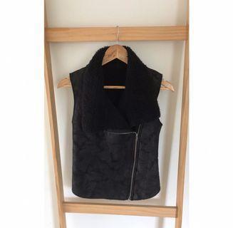 Size 8: Black winter Vest MASSIVE WARDROBE CLEAN OUT
