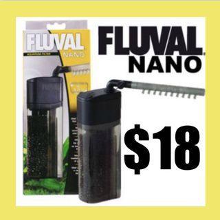 $18 Fluval Nano Aquarium Filter, up to 15 US Gal (55 L)