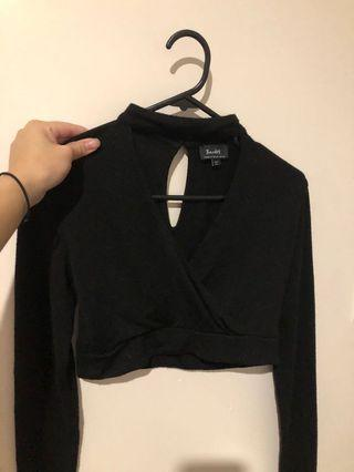 LONG SLEEVES CROPPED