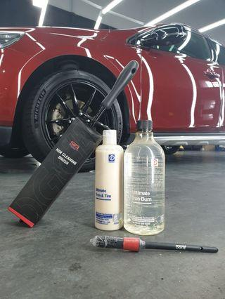 Fireball ultimate rim cleaning kit