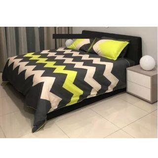 [Brand new] King Size bedding set without mattress